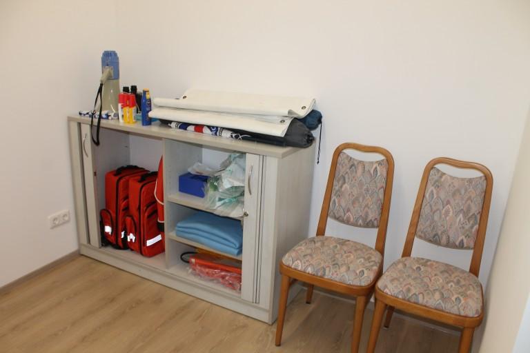 Patientenraum Versorgung